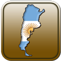 Map of Argentina icon