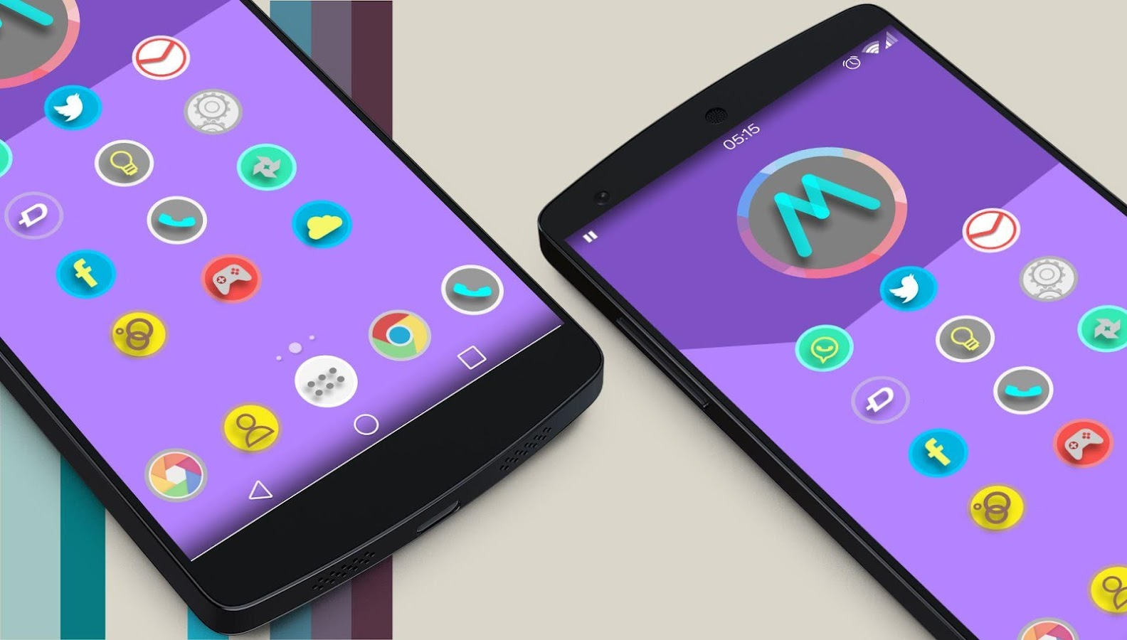 Lollipop Material Design Theme - screenshot