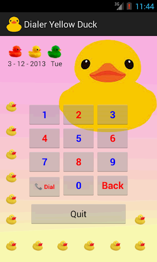 Dialer Yellow Duck