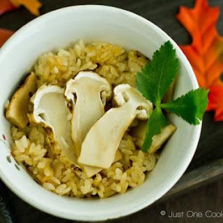 Matsutake Gohan (Wild Pine Mushroom Rice)