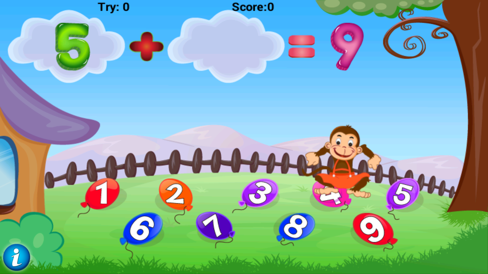 Math Addition Game For Kids- screenshot
