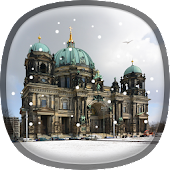 Snow in Berlin Live Wallpaper