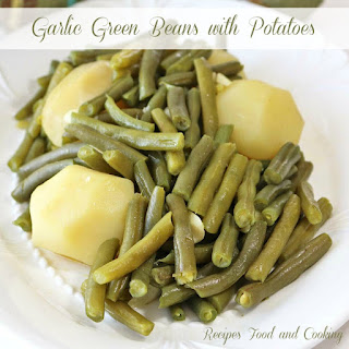 Garlic Green Beans with Potatoes