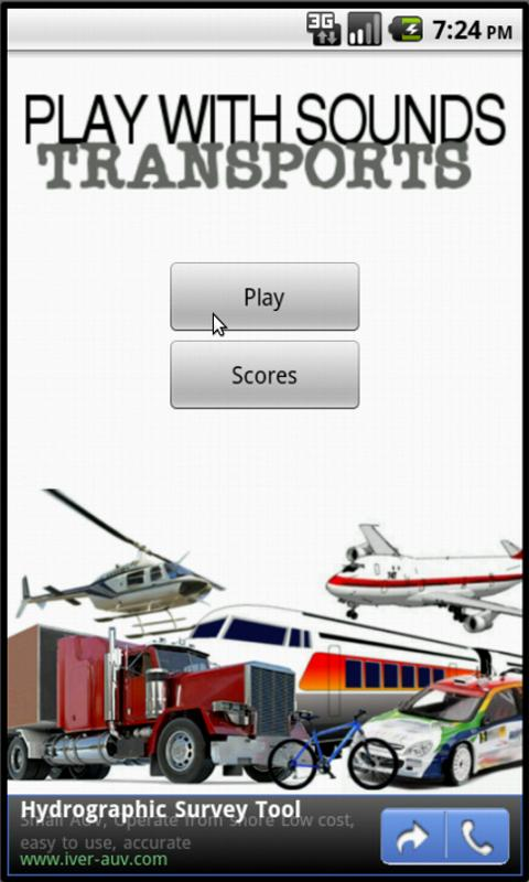 Play With Sounds - Transports- screenshot