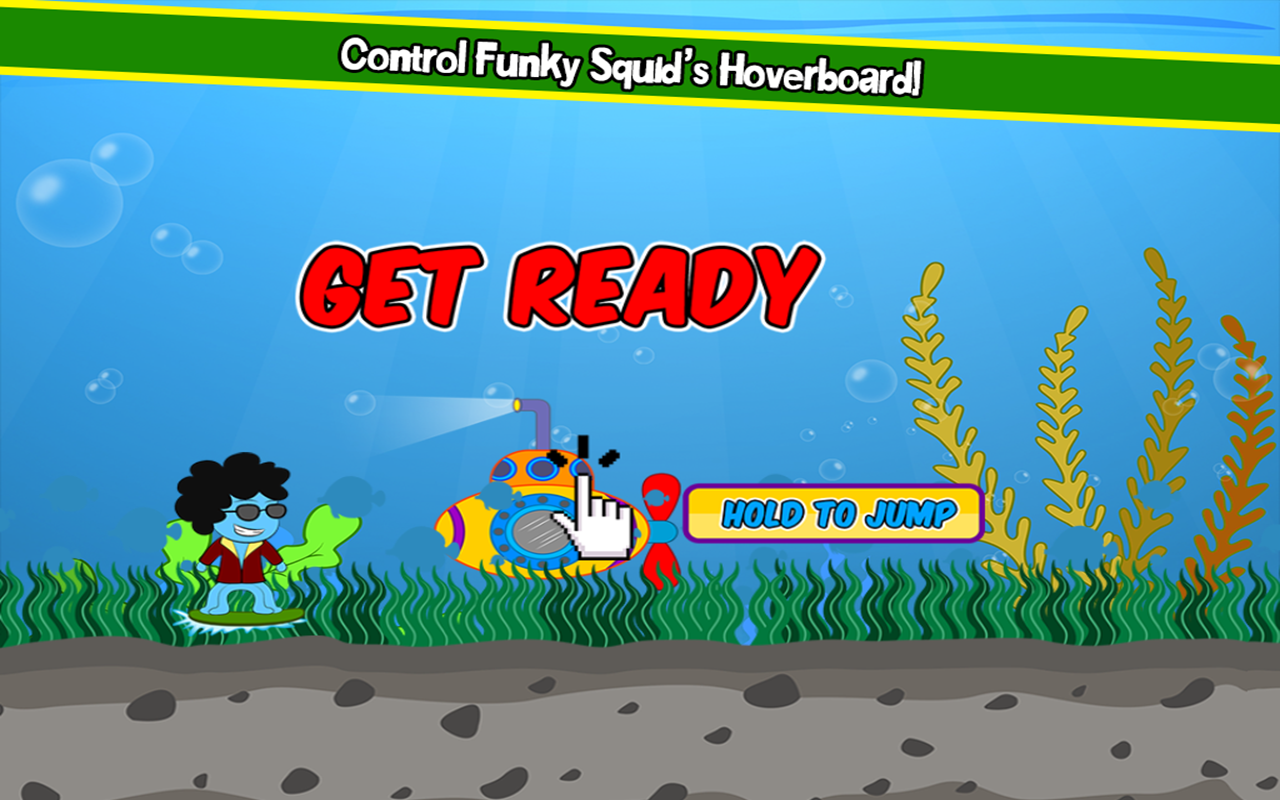 Funky Squid Goes Jumping- screenshot
