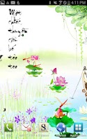Screenshot of Chuồn chuồn đỏ - Ảnh nền động