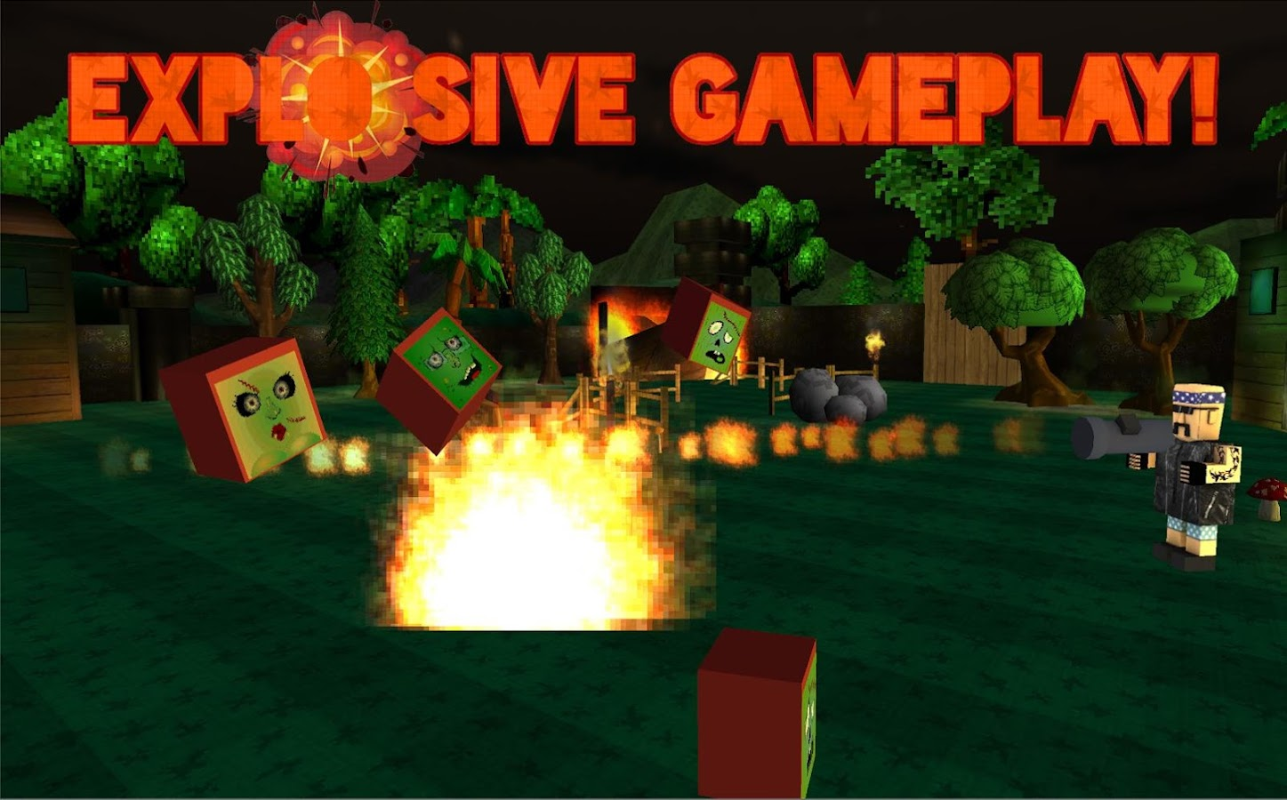 Blockalypse Now! - Zombies!- screenshot
