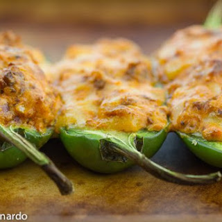 Stuffed Jalapenos With Mexican Chorizo & Smoked Gouda.