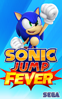 Screenshot of Sonic Jump Fever