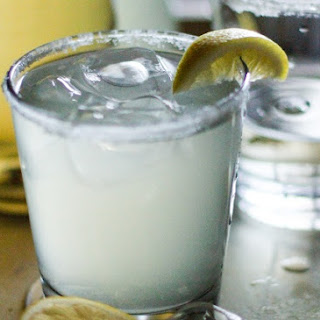 Naturally Sweetened Lemonade Margaritas