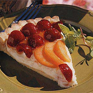 Cherry-Apricot Cream Cheese Tart