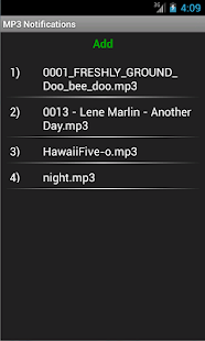 MP3 Notifications- screenshot thumbnail