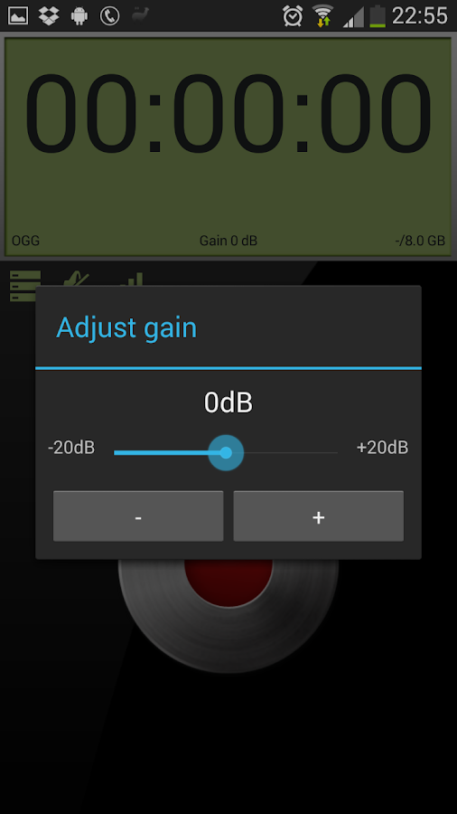 Sound & Voice Recorder - ASR - screenshot