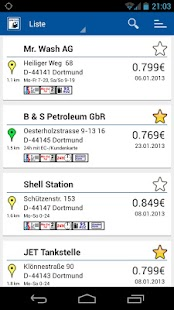 LPG CNG Finder Europa – Miniaturansicht des Screenshots