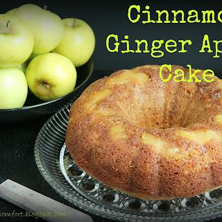 Cinnamon Ginger Apple Cake