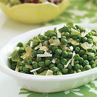 Peas with Mint and Ricotta Salata