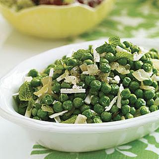 Peas with Mint and Ricotta Salata
