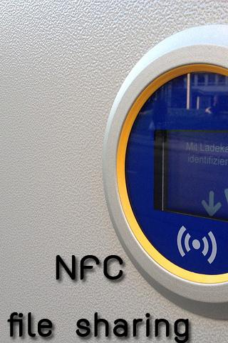 NFC File Sharing