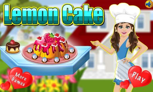 Cooking Game Lemon Cake