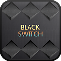 BlackSwitch go locker theme icon