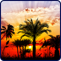 Sunset HD Live Wallpaper icon