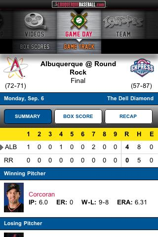 Albuquerque Isotopes - screenshot