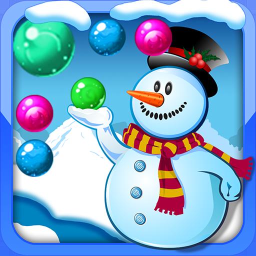 休閒App|雪だるまバブルジャーニー LOGO-3C達人阿輝的APP