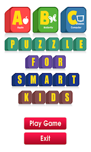 ABC Puzzle for Smart Kids- screenshot thumbnail