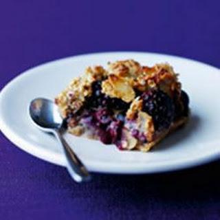 Berry, Apple and Caramel Squares Recipe