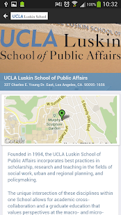 UCLA Luskin School Mobile News- screenshot thumbnail