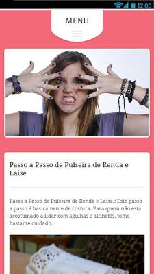 Como Fazer Pulseiras - screenshot