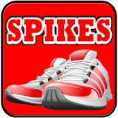 Spikes Athletic Footwear