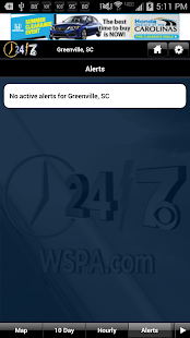 WSPA WX - screenshot thumbnail