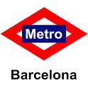 Barcelona's Metro icon