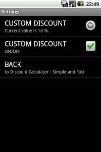 Discount Calculator - Simple screenshot 2