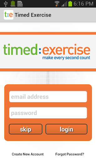 【免費健康App】Timed Exercise-APP點子