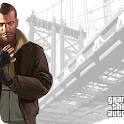 Grand Theft Auto IV Wallpapers logo