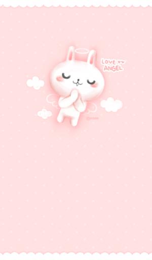 love angel 카카오톡 테마