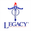 Legacy - donate and connect icon