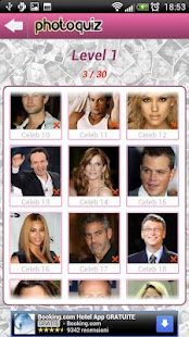 Photo Quiz Celebrity - screenshot thumbnail