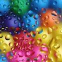 3D lovely Raindrop logo