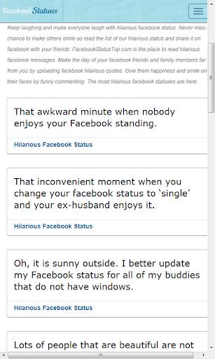 社交必備APP下載 Facebook statuses and quotes 好玩app不花錢 綠色工廠好玩App