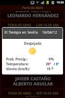 Screenshot of Feria de Abril