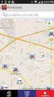 Screenshot of Fuelman Mobile