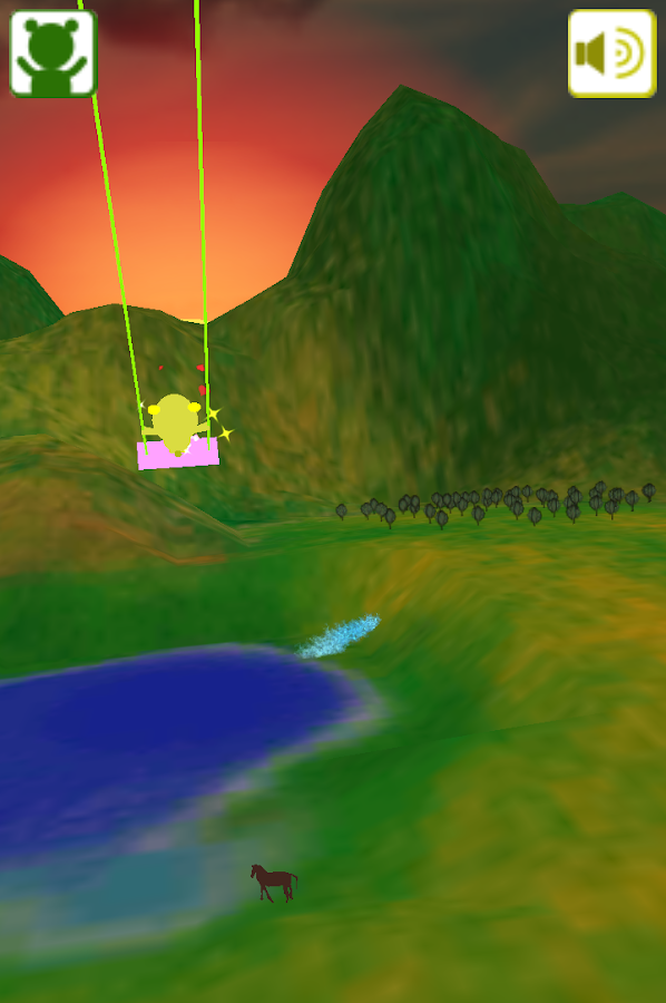 Child swing- screenshot