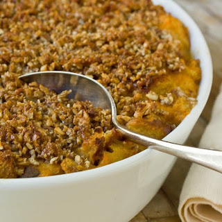 Sweet Potato Bread Pudding
