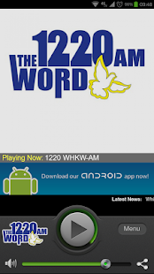 1220 WHKW-AM - screenshot thumbnail