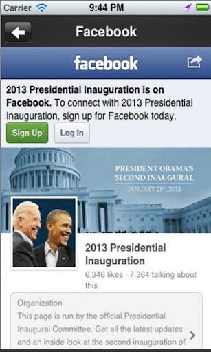 玩免費新聞APP|下載Inauguration 2013 app不用錢|硬是要APP