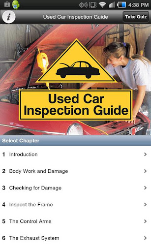 生活必備APP下載|Used Car Inspection Guide 好玩app不花錢|綠色工廠好玩App
