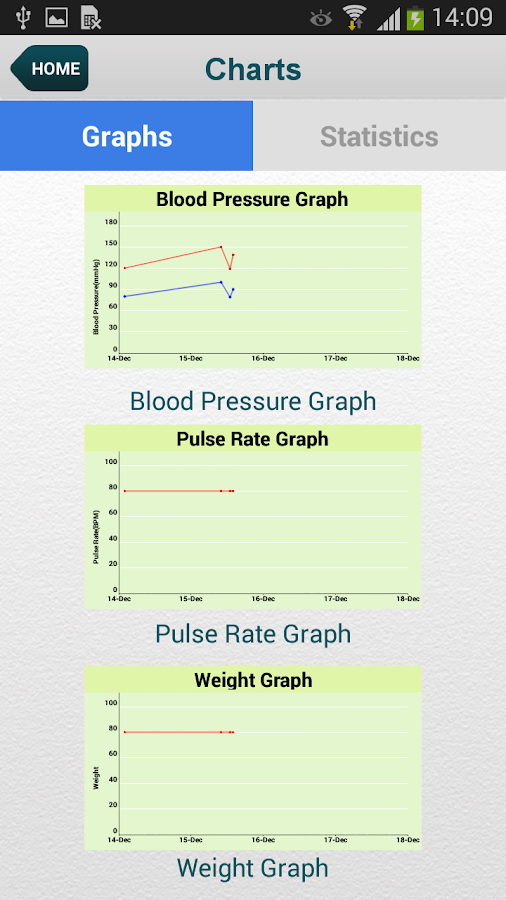Blood Pressure (SmartBP)- screenshot